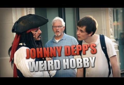 Johnny Deppi veider hobi
