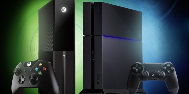Xbox One ja Playstation 4