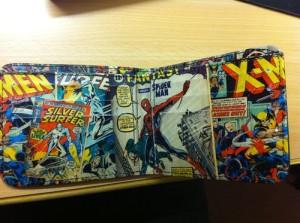 Marvel rahakott seest