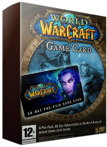 World of Warcraft Pre Paid Game Card