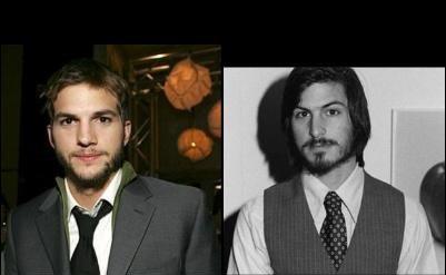 Ashton Kutcher ja Steve Jobs