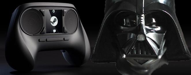 Steami pult ja Darth Vader