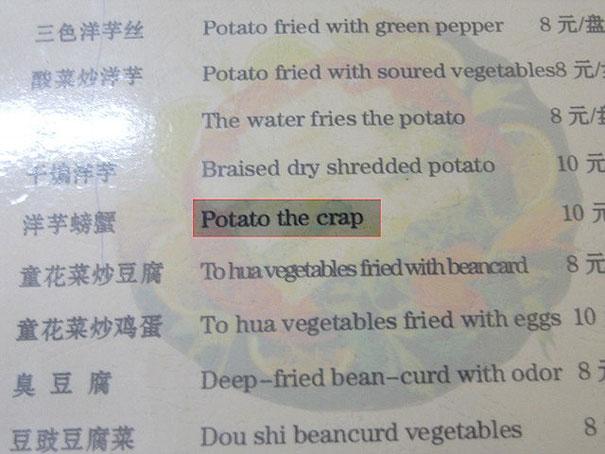 potato the crap