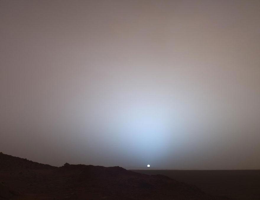 Päikeseloojang marsil
