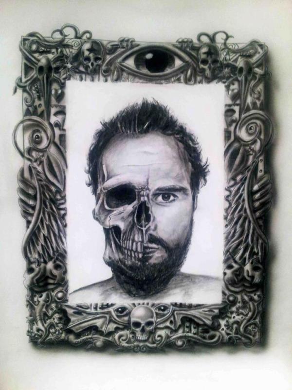 Pool koljut autoportree