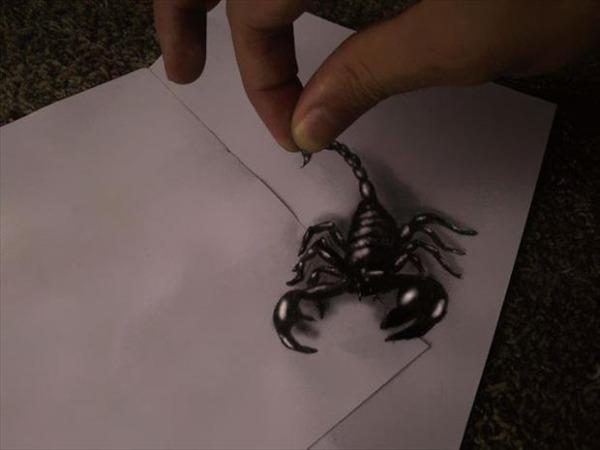Skorpion liikvel