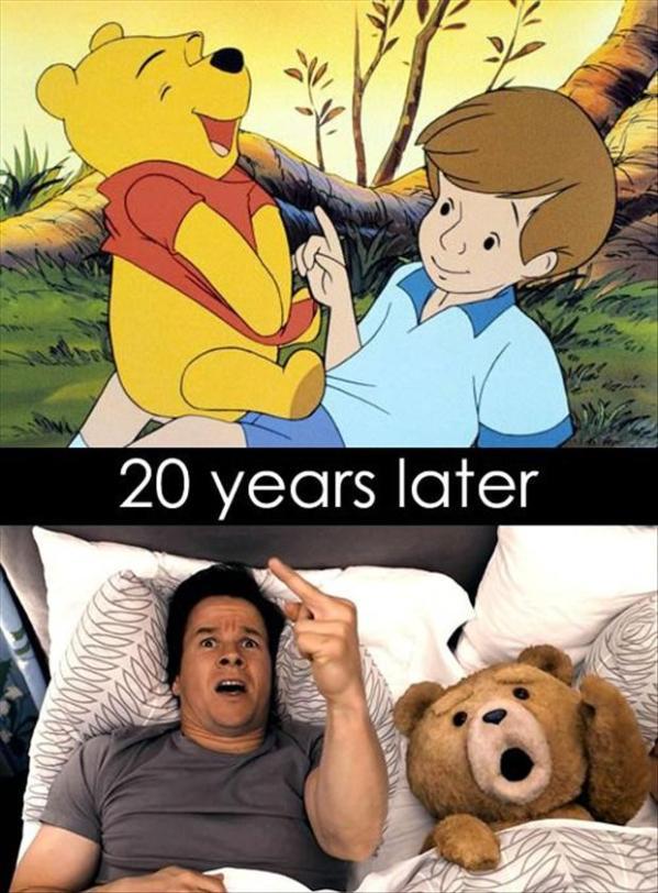 1 Ted ja Karupoeg Puhh