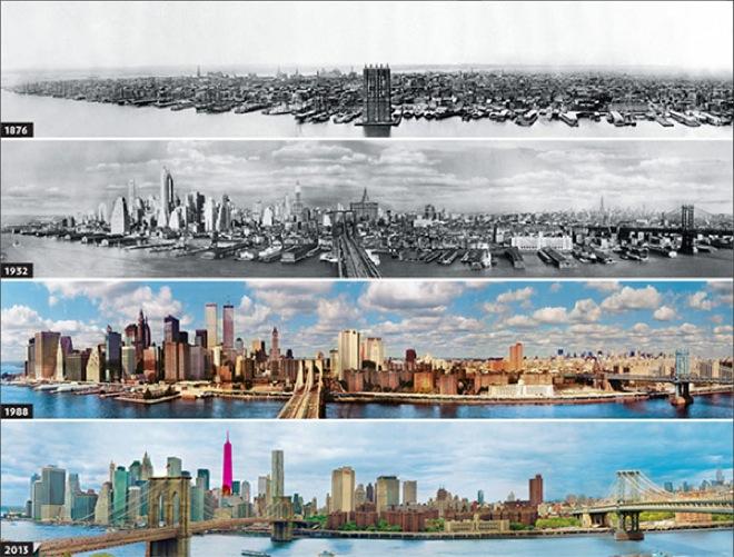 1. New York, USA, 1876-1932-1988-2013