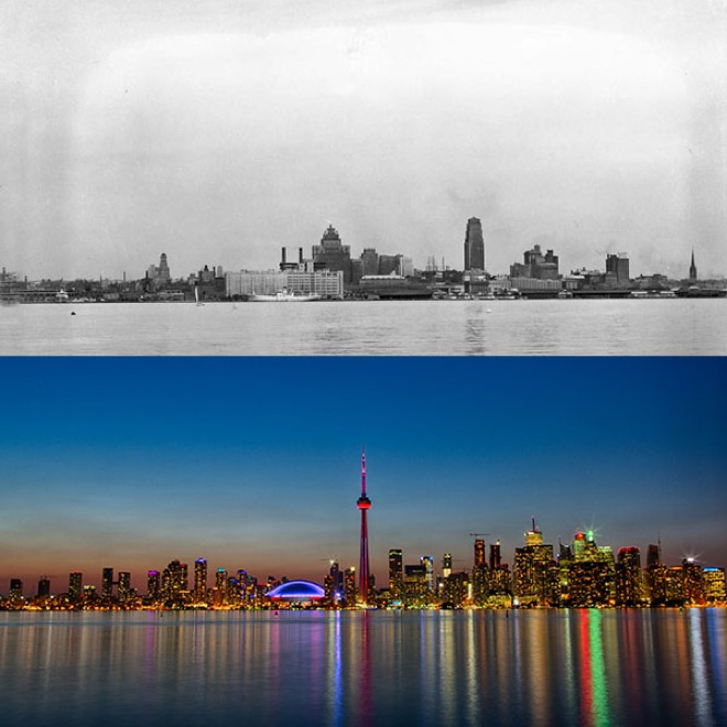 10. Toronto, Canada, 1930-2014