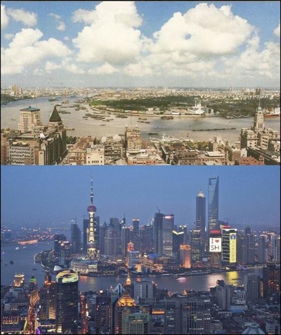 14. Shanghai, China, 1990-2014