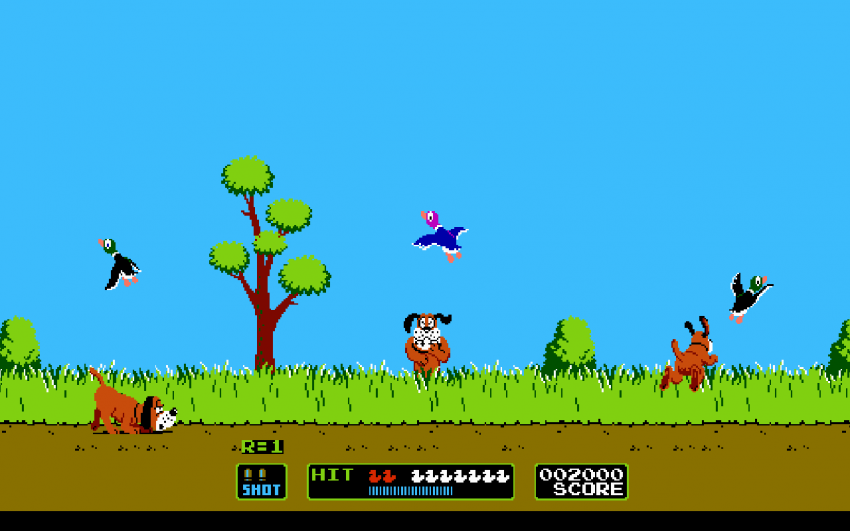 1984 – Duck Hunt – NES