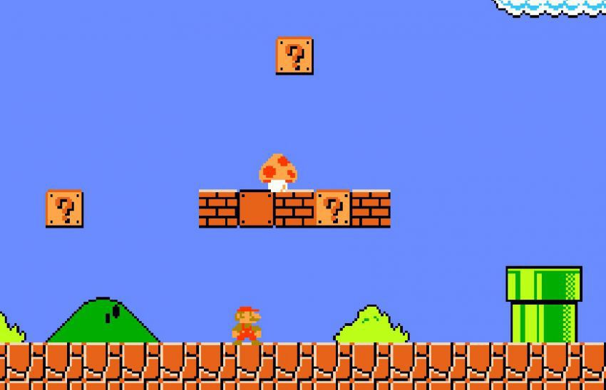 1985 – Super Mario Bros. – NES