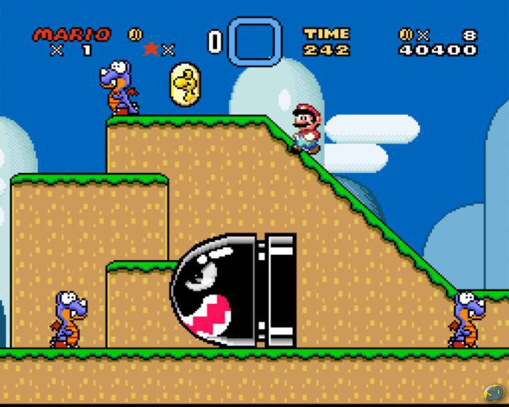 1990 – Super Mario World – SNES