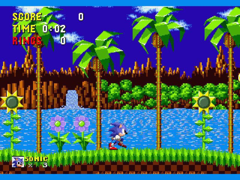 1991 – Sonic The Hedgehog – Sega Genesis