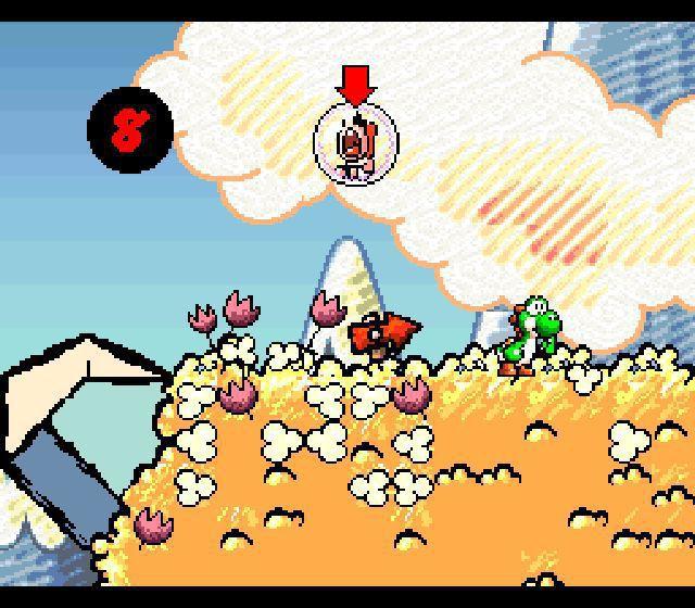 1995 – Super Mario World 2 Yoshi's Island – NES