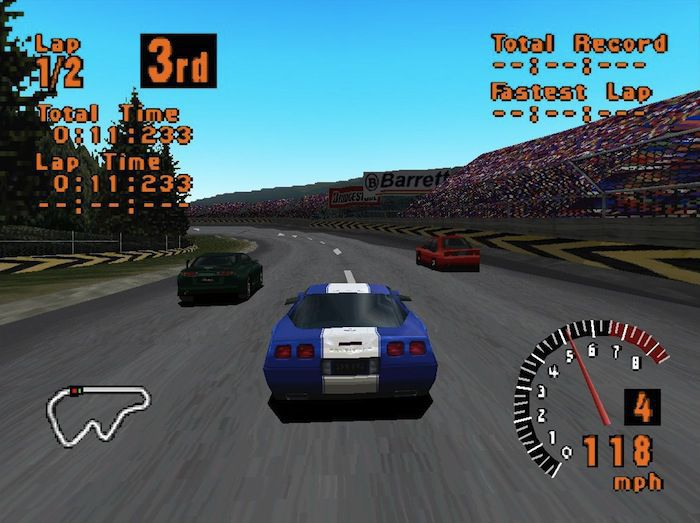 1997 – Gran Turismo – Playstation