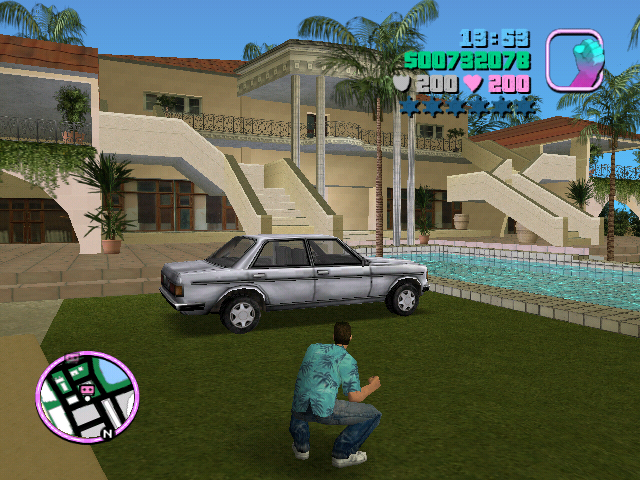 2002 – Grand Theft Auto Vice City – Playstation 2
