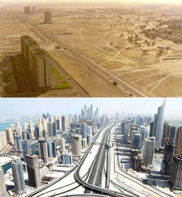 3. Dubai, UAE, 1990-2013