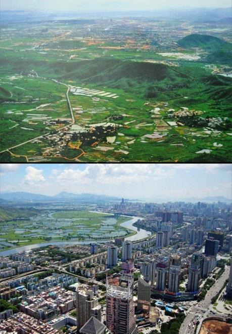 6. Shenzen, China, 1980-2011