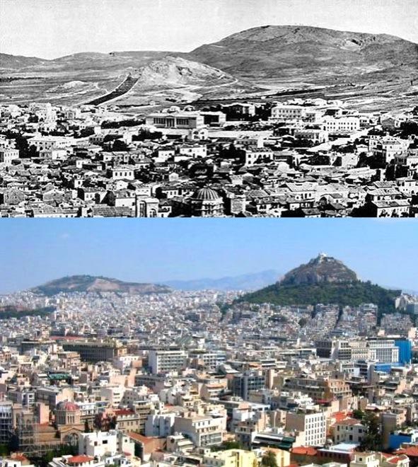 9. Athens, Greece, 1860-2010