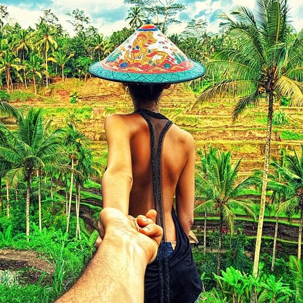18 Riisiväljad Balil