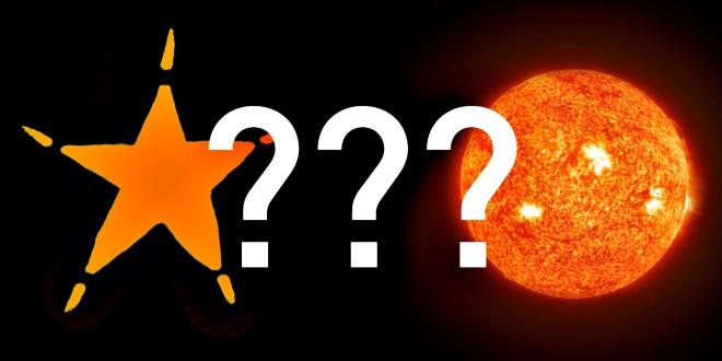 Miks on tähed teravate tippudega?