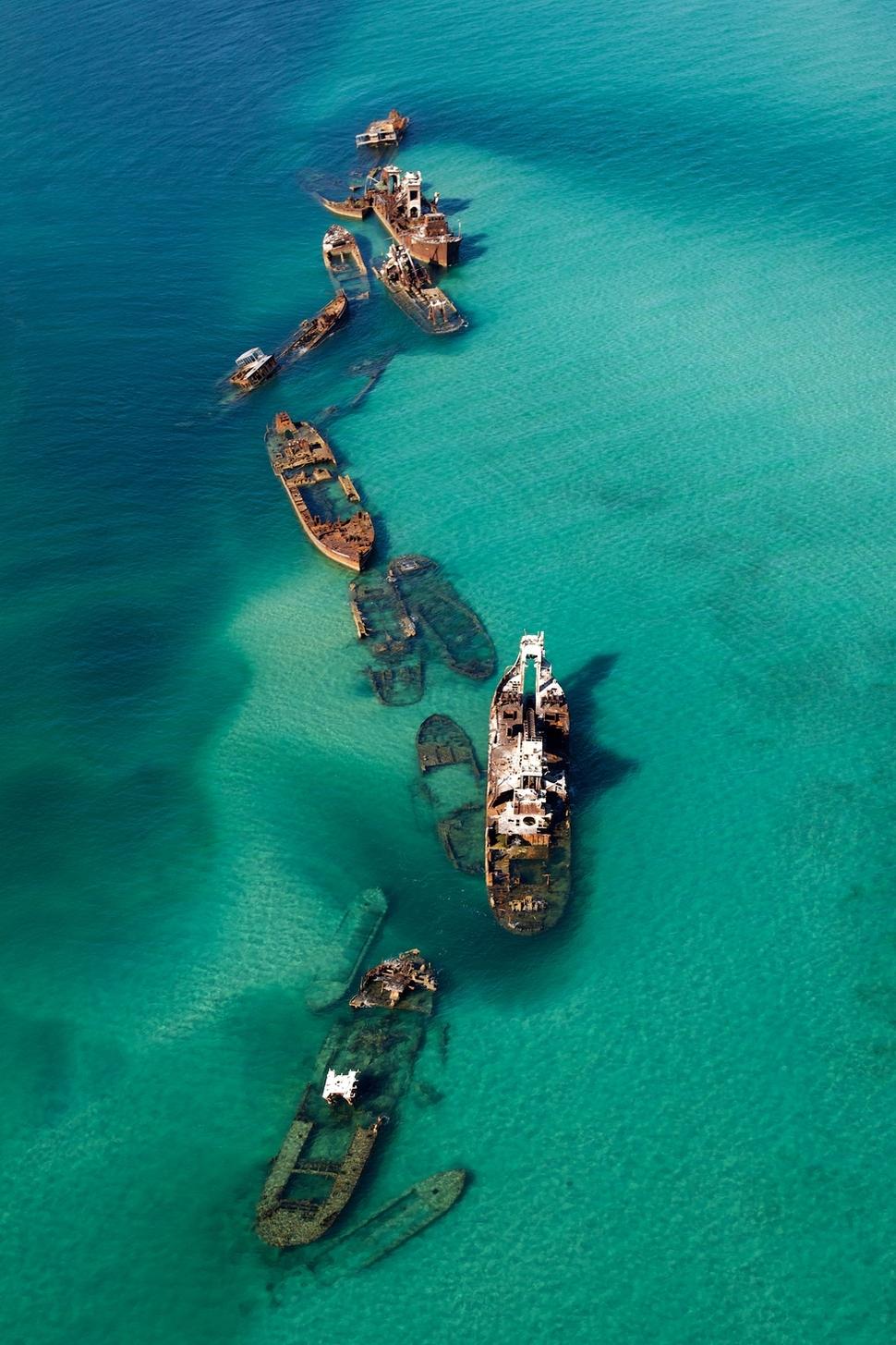 Laevavrakid Bermuda Kolmnurgas