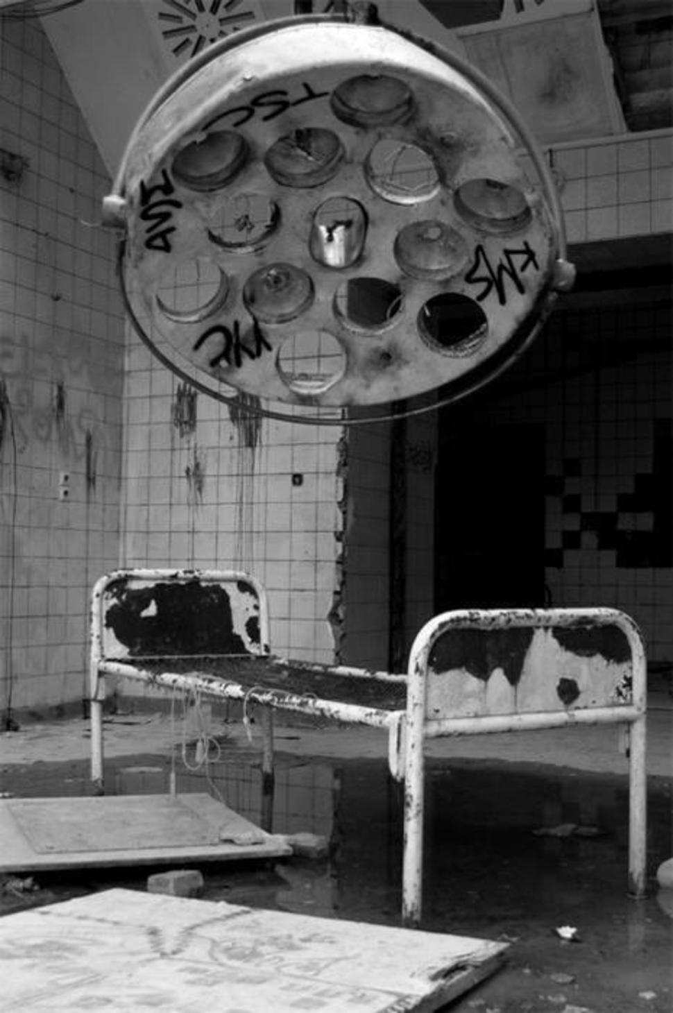 Mahajäetud sanatoorium