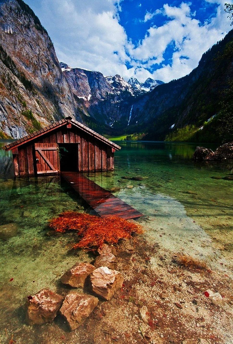 Paadimaja, Obersee järv, Saksamaa