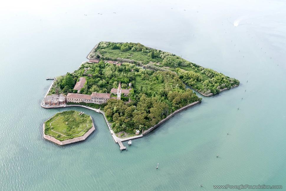 Poveglia saar, Itaalia