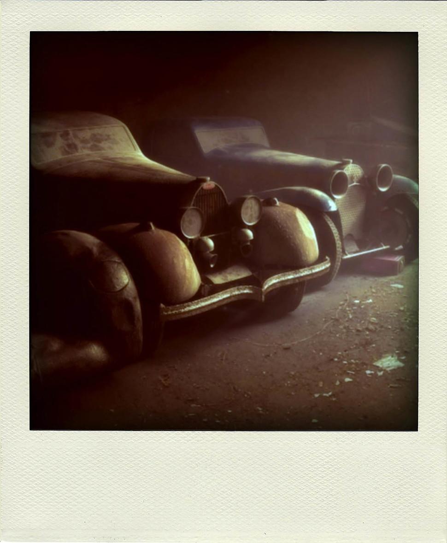Unustatud Bugattid