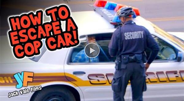 politseiautost põgenemine