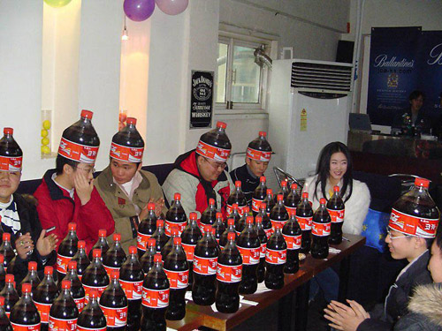 3 Coca-Cola fanaatikud