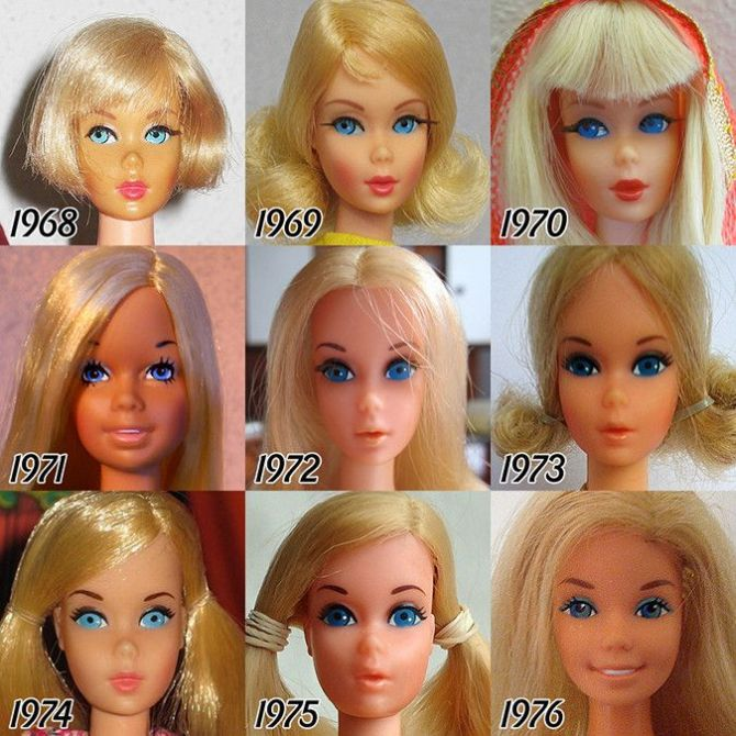 barbie evolutsioon 2